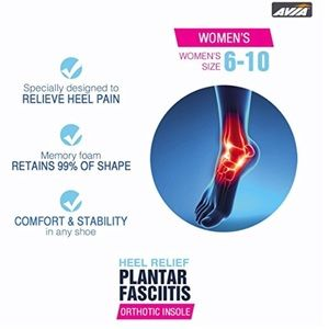 0f7a905d1f Avia Accessories | Pain Relief Orthotic Insoles Women Sz 610 | Poshmark
